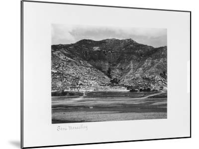 Sera Monastery, Lhasa, Tibet, 1903-04-John Claude White-Mounted Giclee Print