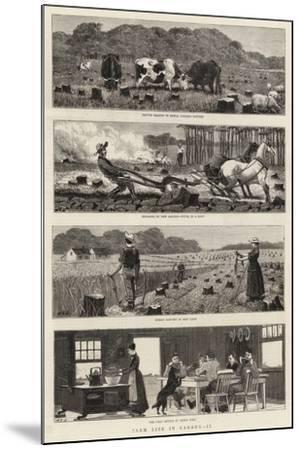 Farm Life in Canada, II-John Charles Dollman-Mounted Giclee Print