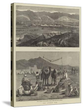 The Afghan War-John Charles Dollman-Stretched Canvas Print