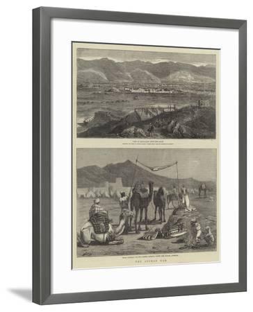 The Afghan War-John Charles Dollman-Framed Giclee Print