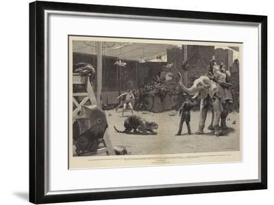 Loose!-John Charles Dollman-Framed Giclee Print