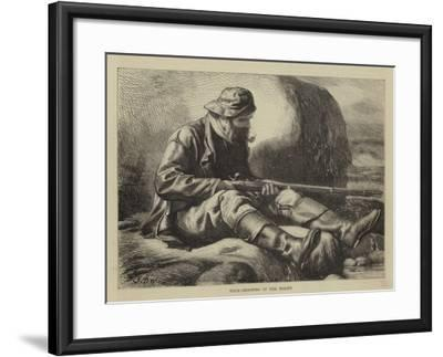 Duck-Shooting in the North-John Dawson Watson-Framed Giclee Print