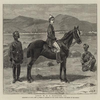 Lieutenant W R P Hamilton-John Charles Dollman-Framed Giclee Print