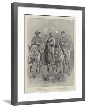 After the Fall of Omdurman, Enjoying the Delights of Freedom-John Charlton-Framed Giclee Print