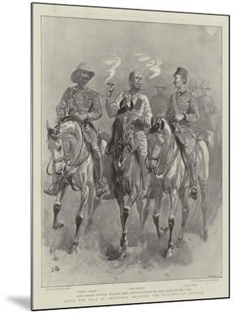 After the Fall of Omdurman, Enjoying the Delights of Freedom-John Charlton-Mounted Giclee Print