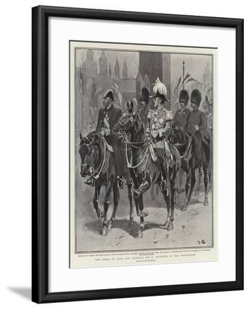 The Duke of Fife and Admiral Sir E Seymour in the Procession-John Charlton-Framed Giclee Print
