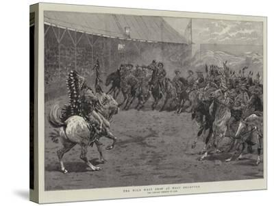 The Wild West Show at West Brompton-John Charlton-Stretched Canvas Print