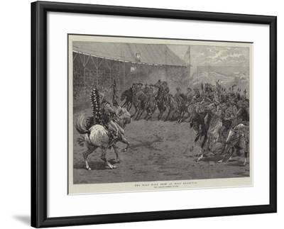 The Wild West Show at West Brompton-John Charlton-Framed Giclee Print