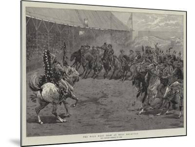 The Wild West Show at West Brompton-John Charlton-Mounted Giclee Print