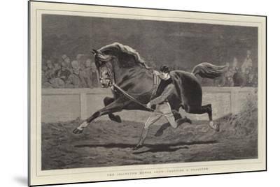 The Islington Horse Show, Trotting a Roadster-John Charlton-Mounted Giclee Print