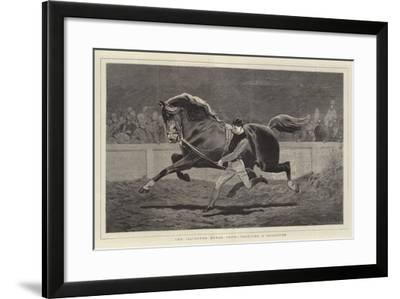 The Islington Horse Show, Trotting a Roadster-John Charlton-Framed Giclee Print
