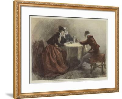 The Heart of Denise-John Seymour Lucas-Framed Giclee Print