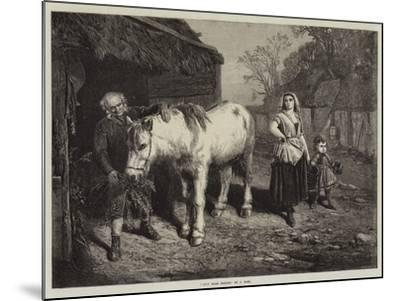 Auld Mare Maggie-John Faed-Mounted Giclee Print