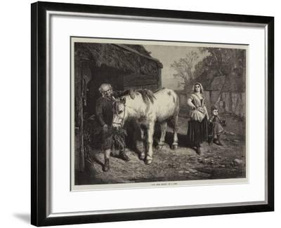 Auld Mare Maggie-John Faed-Framed Giclee Print