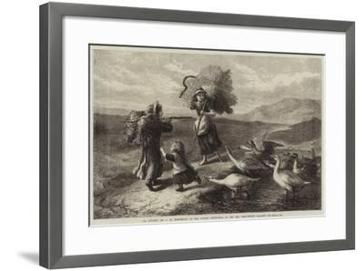 An Attack-John William Bottomley-Framed Giclee Print