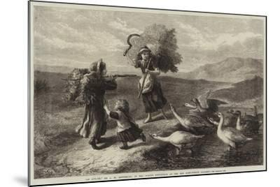 An Attack-John William Bottomley-Mounted Giclee Print