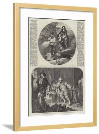 Exhibition of the Royal Academy-John Henry Mole-Framed Giclee Print