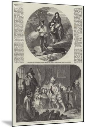 Exhibition of the Royal Academy-John Henry Mole-Mounted Giclee Print