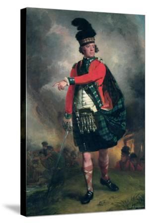 Portrait of Hugh Montgomerie, 12th Earl of Eglinton (1739-1819) C.1780-John Singleton Copley-Stretched Canvas Print