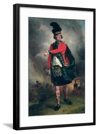 Portrait of Hugh Montgomerie, 12th Earl of Eglinton (1739-1819) C.1780-John Singleton Copley-Framed Giclee Print