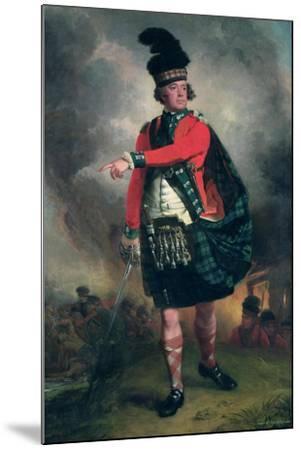Portrait of Hugh Montgomerie, 12th Earl of Eglinton (1739-1819) C.1780-John Singleton Copley-Mounted Giclee Print