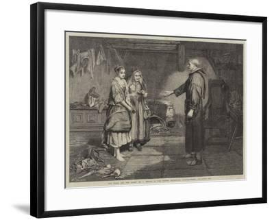 The Bible and the Monk-John Pettie-Framed Giclee Print