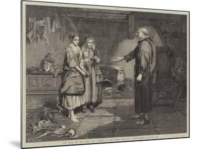 The Bible and the Monk-John Pettie-Mounted Giclee Print