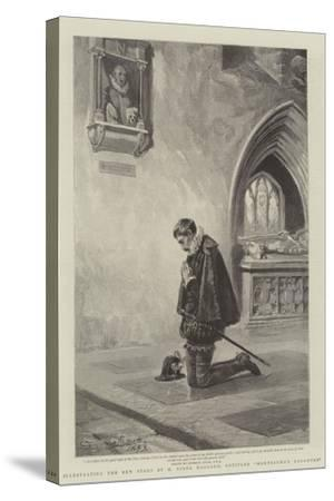 Illustrating the New Story by H Rider Haggard, Entitled Montezuma's Daughter-John Seymour Lucas-Stretched Canvas Print