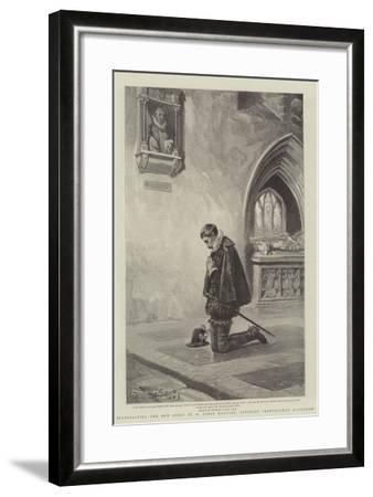 Illustrating the New Story by H Rider Haggard, Entitled Montezuma's Daughter-John Seymour Lucas-Framed Giclee Print