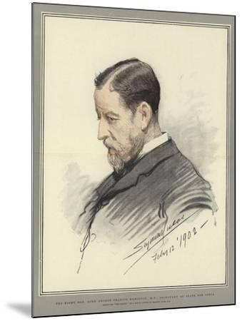 The Right Honorable Lord George Francis Hamilton, Mp, Secretary of State for India-John Seymour Lucas-Mounted Giclee Print