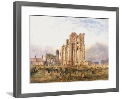 Tynemouth Priory, East End, 1878-John Storey-Framed Giclee Print