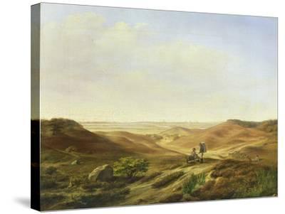 Landscape, 1835-John Wilhelm David Bantelmann-Stretched Canvas Print