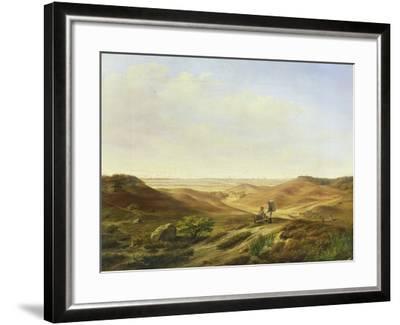 Landscape, 1835-John Wilhelm David Bantelmann-Framed Giclee Print