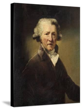 Sir Joshua Reynolds-John Jackson-Stretched Canvas Print