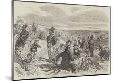 Eight Hours at the Sea-Side-John Leech-Mounted Giclee Print