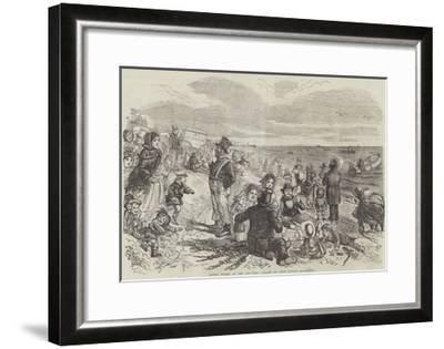 Eight Hours at the Sea-Side-John Leech-Framed Giclee Print
