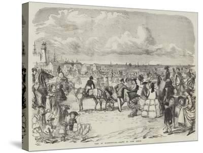 Part of Scarborough-John Leech-Stretched Canvas Print
