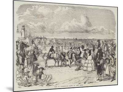 Part of Scarborough-John Leech-Mounted Giclee Print