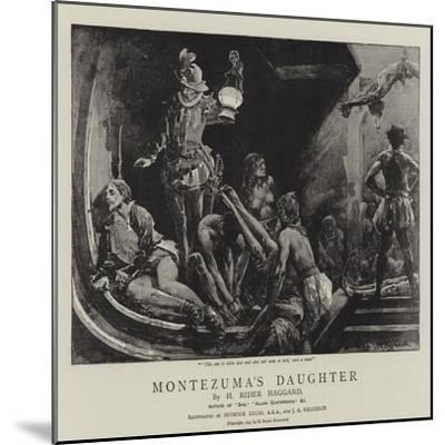 Montezuma's Daughter-John Seymour Lucas-Mounted Giclee Print