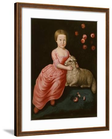 Mary Beekman, 1766-John Durand-Framed Giclee Print