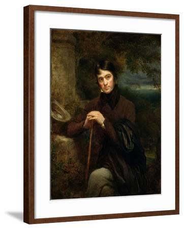 Thomas Carlyle (1795-1881), 1844-John Linnell-Framed Giclee Print
