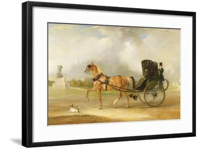 William Massey-Stanley Driving His Cabriolet in Hyde Park, 1833-John E^ Ferneley-Framed Giclee Print