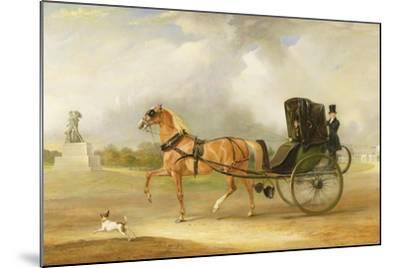 William Massey-Stanley Driving His Cabriolet in Hyde Park, 1833-John E^ Ferneley-Mounted Giclee Print