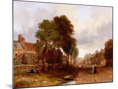 Westoe Village, 1835-John Wilson Carmichael-Mounted Giclee Print