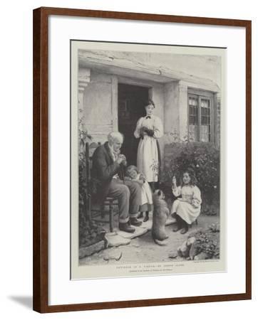Patience Is a Virtue-Joseph Clark-Framed Giclee Print