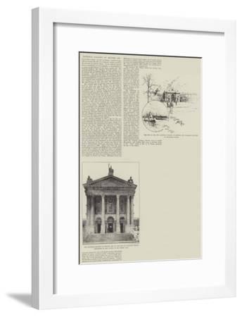 National Gallery of British Art-Joseph Holland Tringham-Framed Giclee Print