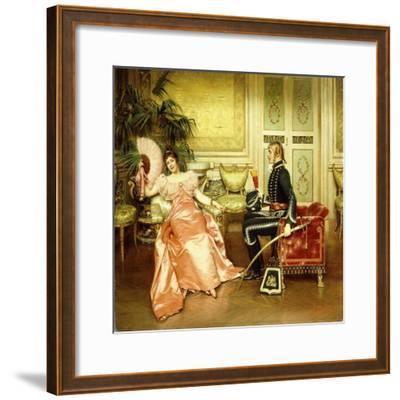 Flirtation-Joseph Frederick Charles Soulacroix-Framed Giclee Print