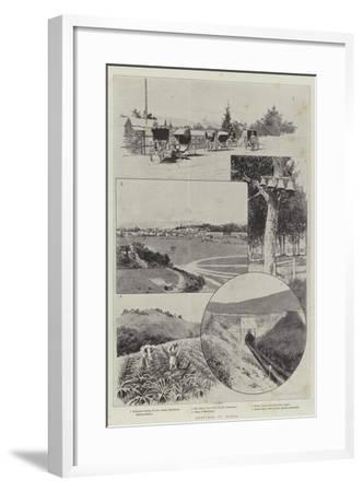 Sketches in Natal-Joseph Holland Tringham-Framed Giclee Print