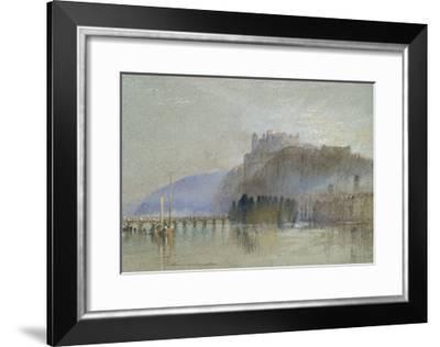 Amboise, C. 1830-J^ M^ W^ Turner-Framed Giclee Print