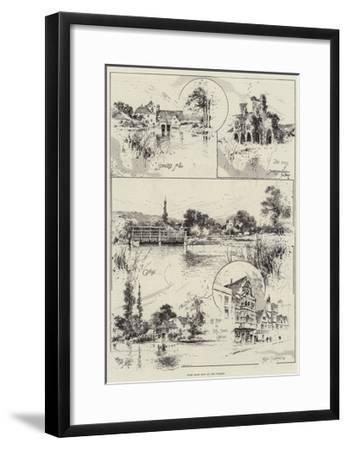 Some More Bits on the Thames-Joseph Holland Tringham-Framed Giclee Print